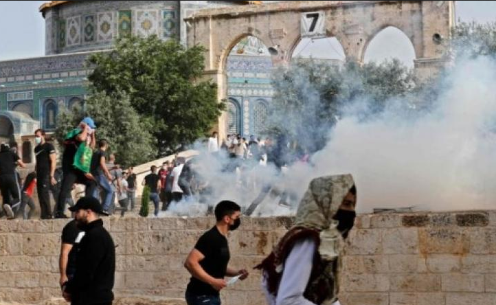 الأحداث الجارية فى القدس